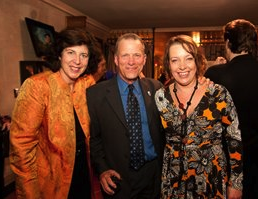 Gockley at the SFO <em>Ring</em>, which he regards the high point in his tenure, with Francesca Zambello and Nina Stemme Photos by Kristen Loken