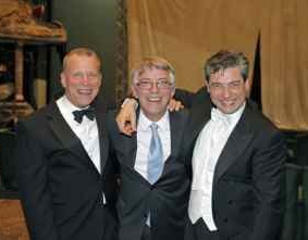 With Chorus Master Ian Robertson and Music Director Nicola Luisotti Photo by Cory Weaver