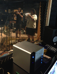 Mariachi band recording in the Doug Conner Studios