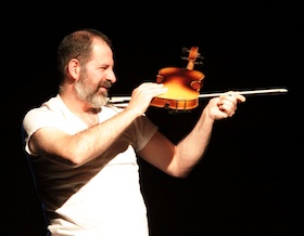 Luciano Chessa performs Solo for Violin for Sylvano Bussotti by George Maciunas