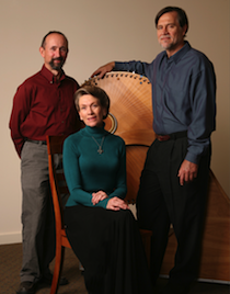 David Canright, Heidi Forster, and Cris Forster