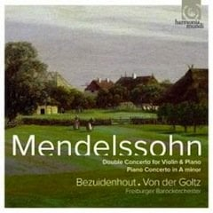 Mendelssohn: Double Concerto for Violin and Piano