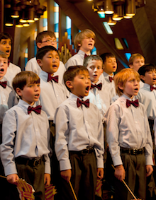 Ragazzi Boys Chorus<br>Photo by Curtis Finger