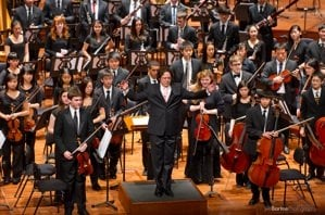 San Francisco Youth Orchestra<br>Photo by Jeff Bartee