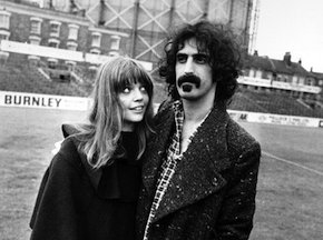 Gail and Frank Zappa