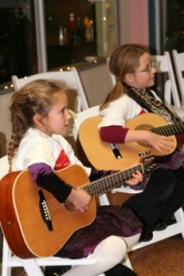 Guitar duo, little kids rock
