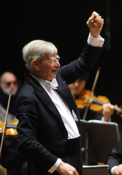 San Francisco Symphony Guest Conductor Herbert Blomstedt