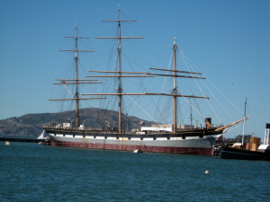 The 19th Century sailing ship Balclutha