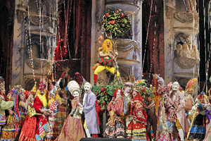 Easter Sunday carnival scene from <em>Mefistofele</em> Photos by Cory Weaver