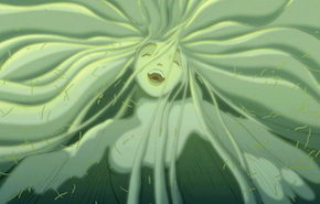 A strange firebird from <em>Fantasia 2000</em>