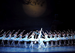 American Ballet Theatre in a performance of Swan Lake Photo by Tristram Kenton