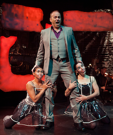 Victor Benedetti as Viktor, with Janet Das and Quilet Rarang