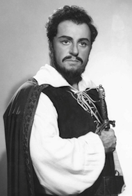 Carlo Bergonzi in the title role in Verdi's <em>Ernani</em> Photo by Louis Mélançon/Metropolitan Opera
