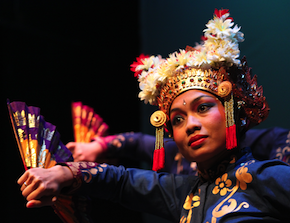 Nina Herlina in <em>Legong Pengleb</em> Photos by Ben Belknap