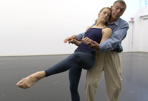 Amy Young and Paul Taylor in a documentary about the choreographer Photo by Tom Hurwitz