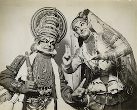 Katherine and K.P. Kunhiraman performing in 1978