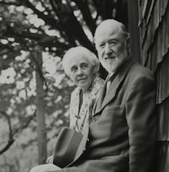 From Ives... (shown here in a 1946 photo with wife Harmony) Photo by Halley Erskine