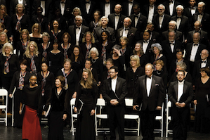 Masterworks Chorale and soloists Photos by Marshall Dinowitz