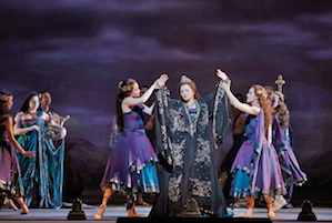 Patricia Racette in Mefistofele, which will be seen on KQED on Sept. 25