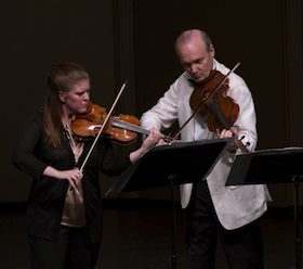 Erin Keefe and Paul Neubauer perform Martinù's Three Madrigals for Violin and Viola