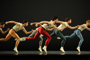 San Francisco Ballet in Robbins' <em>Glass Pieces</em> Photo by Erik Tomasson