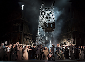 <em>Les Troyens</em>'s Trojan Horse in London Photo by Bill Cooper/Royal Opera