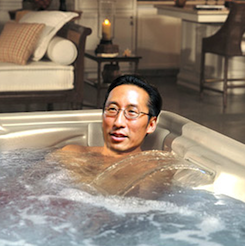 S.F. Supervisor Eric Mar, in the Y jacuzzi, wants the S.F. City Arts Agency in hot water