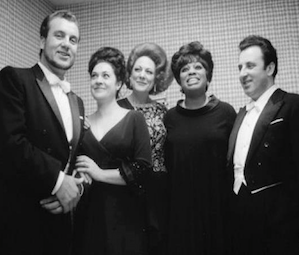 The amazing 1964 Verdi Requiem cast