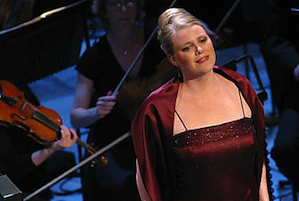 Soprano Erin Wall sings in the Elgar oratorio <em>The Kingdom</em>