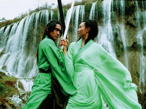 Tony Leung and Maggie Cheung in <em>Hero</em>