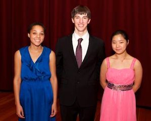 Youjin Lee, violin The Elaine H. Klein 2nd Prize: Wyatt Underhill, violin The Alice Anne Roberts Memorial 3rd Prize: Dana Kelley, viola