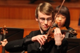 Kenneth Renshaw, soloist in the Bruch concerto