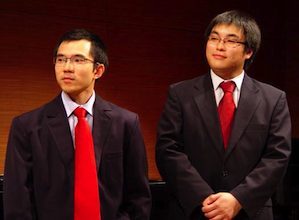 The amazing Kepska Duo: Edgar Woo and Kevin Goh