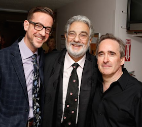 Christopher Koelsch, Placido Domingo, James Conlon