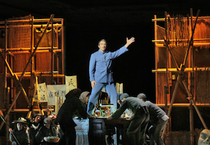 "Joseph Dennis in the American premiere of Huang Ruo's ""Dr. Sun Yat-sen,"""