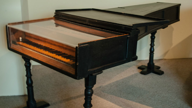 A 1720 fortepiano by Cristofori in the Metropolitan Museum of Art in New York City. It is the oldest surviving piano.