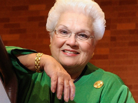 Marilyn Horne was among the first guests.