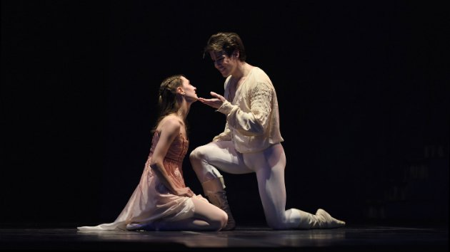 Sarah Van Patten and Carlos Quenedit in Tomasson's Romeo & Juliet. (Photo by Erik Tomasson)