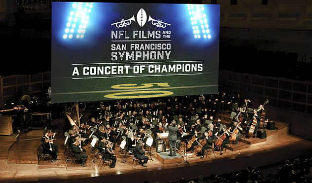 "Symphony hopes to score with ""football music"""
