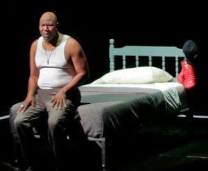 Arthur Woodley as old Emile Griffith in Opera Theater of Saint Louis production (Photo by Ken Howard)