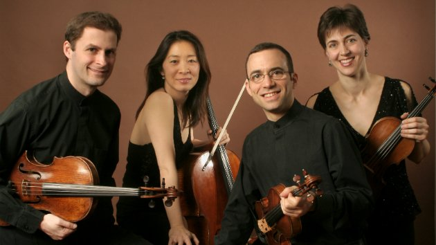 The Brentano String Quartet. (Photo by Peter Schaaf)