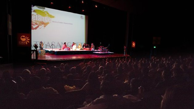 """Melange ... by the Bay"" at the Cowell Theater (Photo courtesy of the Indian Classical Music and Arts Foundation)"