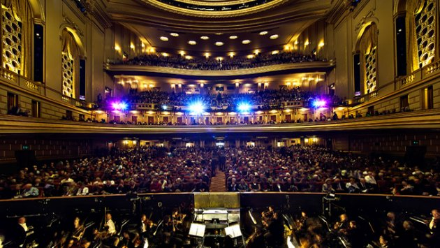 A view from the War Memorial stage (Photo from S.F. Opera)