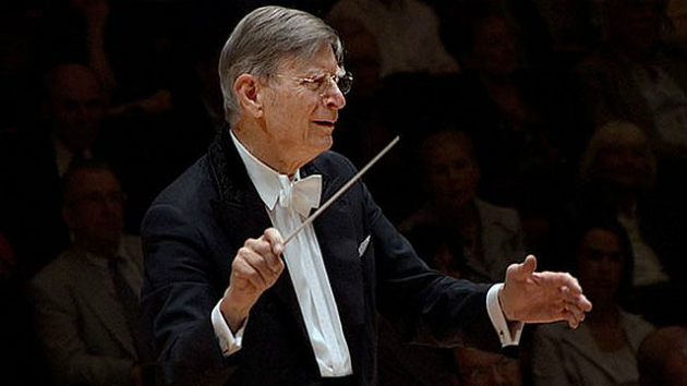 Herbert Blomstedt conducting the Berlin Philharmonic (look for him in Davies Hall next week)