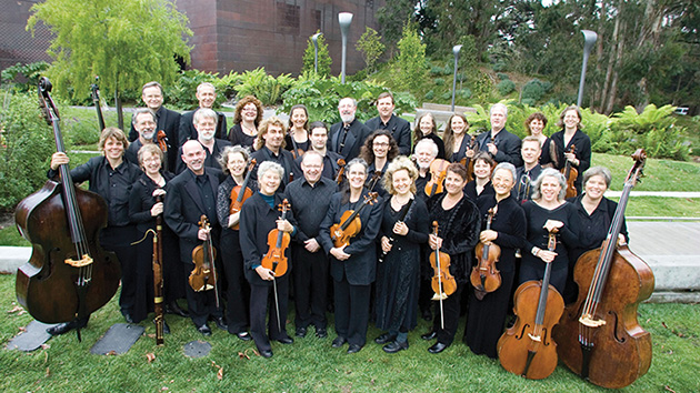 The Philharmonia Baroque Orchestra.