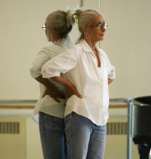 Twyla Tharp, who is celebrating 50 years of choreography (Photo by Marc Van Borstel)
