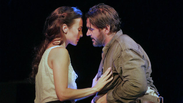 Isabel Leonard (Ada) and Nathan Gunn (Inman) in Cold Mountain (Photo by Ken Howard)