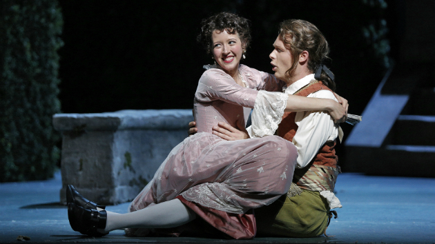 Susanna and Figaro, played by Lisette Oropesa and Philippe Sly. (Photo by Cory Weaver/San Francisco Opera)